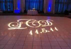 Gobo on the dance floor