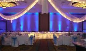 Head table uplighting